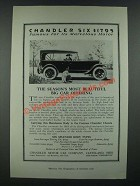 1919 Chandler Touring Car Ad - This Season's Most Beautiful Big Car Offering