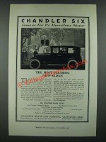 1919 Chandler Sedan Ad - Famous for Its Marvelous Motor