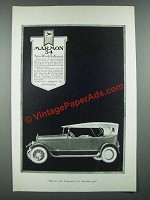 1919 Marmon 34 Car Ad - Now World Influence