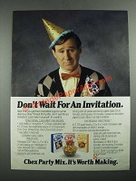 1987 Ralson Chex Cereal Ad - Don't Wait For An Invitation