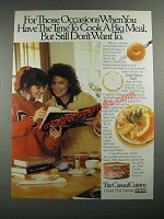 1987 Hormel Chunk Pink Salmon Ad - Have the Time to Cook a Big Meal