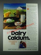 1987 National Dairy Board Ad - Made Simple By A Nutritional Expert