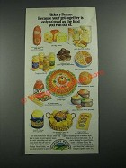 1987 Hickory Farms Ad - Only As Good As The Food You Run Out Of