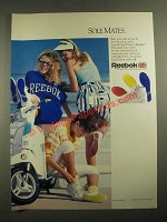 1987 Reebok White 'n Brights Sneakers Ad - Sole Mates
