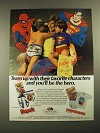 1987 Fruit of the Loom Funpals and Underoos Underwear Ad - Spider-Man