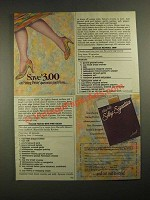1987 Hanes Fitting Pretty Silky Signature Pantyhose Ad