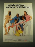 1987 Jordache Sportswear Ad - Sportswear for Real Women