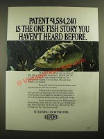 1987 Du Pont Prime Fishing Line Ad - One Fish Story You Haven't Heard