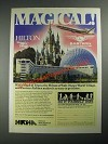 1987 National Retail Hardware Association Ad - Walt Disney World