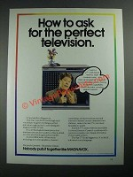 1987 Magnavox Star TV Ad - Ask For the Perfect Television