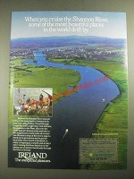 1987 Ireland Tourism Ad - Cruise the Shannon River