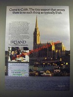 1987 Ireland Tourism Ad - Come to Cobh
