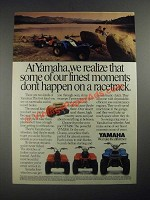 1987 Yamaha YFM80, YFM100 The Champ and YFM200 ATV Ad - Finest Moments