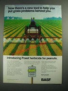 1987 BASF Poast Herbicide Ad - Put Grass Problems Behind You