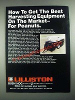 1987 Bush Hog Lilliston 6500 and 7500 Peanut Combines Ad