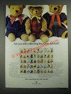 1987 U.S. Postal Service Ad - Still Collecting The Same Old Stuff? - Bears