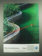 1987 Mobay Sencor Ad - Keeps Out Unwanted Grasses