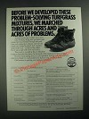 1987 Northrup King Medalist Turf Products Ad - Before We Developed