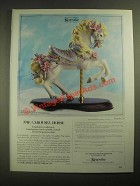1987 Keepsake The Carousel Horse Ad