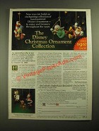 1987 Grolier The Disney Christmas Ornament Collection Ad - Enchanting