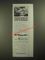 1987 The Company Store Couchpotato Down Comforter Featherbed Ad