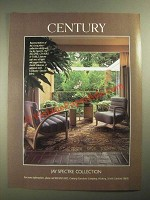 1987 Century Jay Spectre Collection Eclipse Chairs & Table Ad