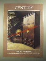 1987 Century Chin Hua Collection Armoire and Night Stand Ad