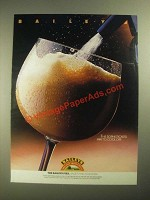 1987 Baileys Irish Cream Ad - Sophisticated Way to Cool Off