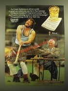 1987 Dewar's White Label Scotch Ad - Scotland's Highland Games