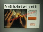 1987 Eveready Squeeze Lights Ad - You'd Be Lost Without It