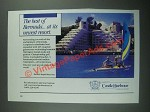 1987 Marriott's Castle Harbour Resort Ad - The Best of Bermuda