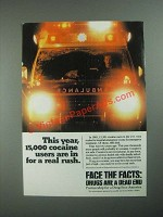 1987 Partnership for a Drug-Free America Ad - 15,000 Cocaine Users