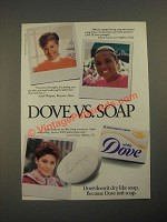 1987 Dove Soap Ad - Dove Vs. Soap