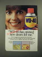 1987 WD-40 Oil Ad - Has Opened New Doors For Me