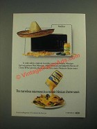 1987 Kraft Cheez Whiz Ad - Marvelous Microwave In-a-Minute Sauce