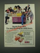 1987 Brach's Pick-a-Mix Candy Ad - One-Stop Shopping Candy Lovers