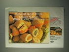 1987 Swanson Chicken Duets Gourmet Nuggets Ad - Great Little Stuffings