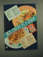 1987 Minute Rice Ad - Fresh Vegetable Rice and Spanish Rice recipes