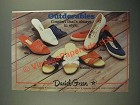 1987 Daniel Green Shoes Ad - Rio, Julie, Malibu