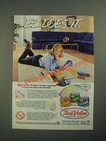 1987 TrueValue Tru-Test E-Z Kare Finish Ad - E-Z Does It