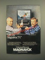 1987 Magnavox Universal Remote Ad - the Smothers Brothers