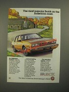 1988 Buick Century Ad - The Most Popular Buick on The American Road
