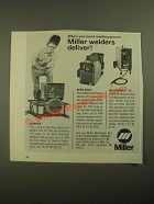 1987 Miller Welders Ad - Starfire, Aead-200LE and Millermatic 35