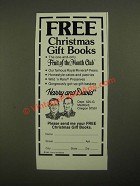 1987 Harry and David Fruit-of-the-Month Club Ad
