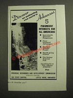 1946 Arkansas Resources and Development Commission Ad - An Enchanting New World
