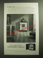 1951 Stromberg-Carlson Chinese Classic Television-radio-phonograph Ad