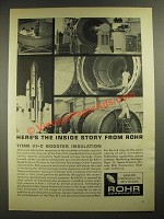 1965 Rohr Titan III-C Booster Insulation Ad - Here's the Inside Story