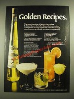 1971 Galliano Liqueur Ad - Golden Recipes