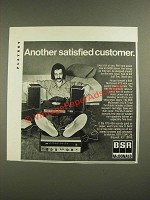 1971 BSR McDonald RTS-40A Component Stereo System Ad - Satisfied Customer