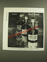 1971 Grand Marnier Liqueur Ad - The Spirit Of